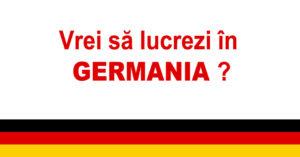 locuri de munca in germania